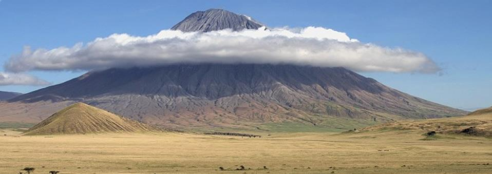 Ol doinyo Lengai Volcano in Northern Tanzania
