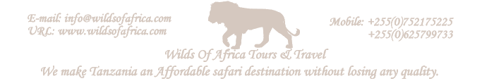 Tanzania Safaris - Budget Tanzania Safaris - Wilds Of Africa